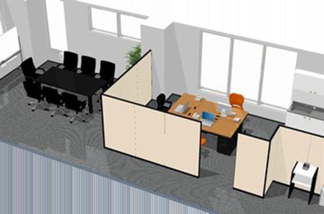 オフィス別室開設 オフィスレイアウト