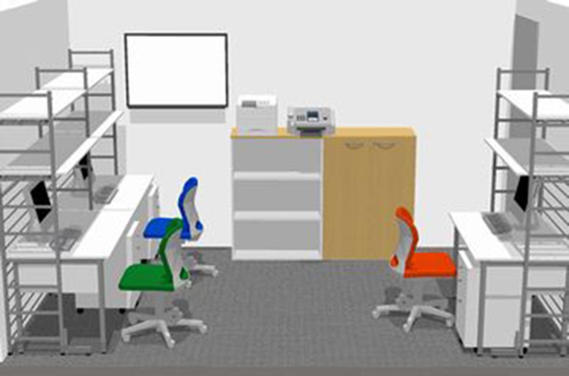 新規事務所開設 オフィスレイアウト